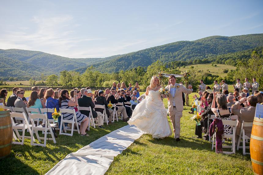 Christina Jeremys Charlottesville Vineyard Wedding