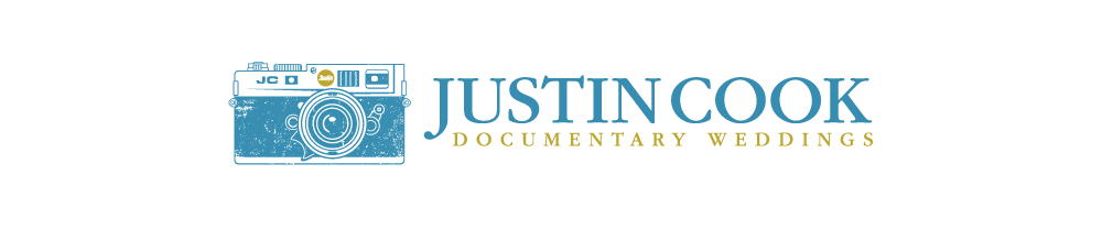 NORTH CAROLINA DOCUMENTARY WEDDING PHOTOGRAPHER | JUSTIN COOK  – justin@justincookweddings.com logo